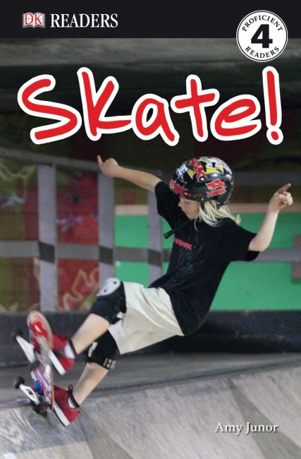Paperback cover of DK Readers L4: Skate!