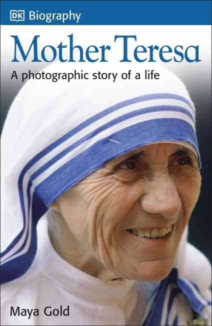 Paperback cover of DK Biography: Mother Teresa