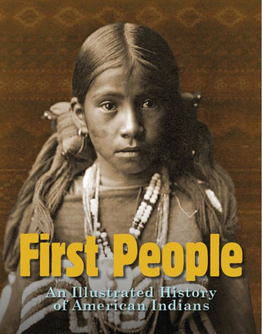Hardback cover of First People