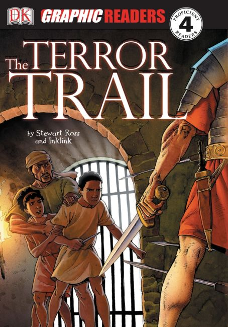 eBook cover of The Terror Trail