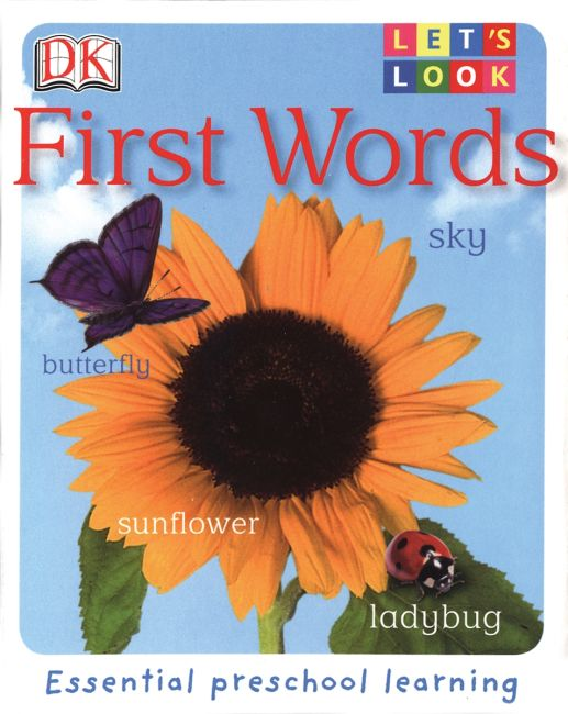 eBook cover of Let's Look: First Words