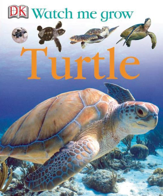eBook cover of Watch Me Grow: Turtle