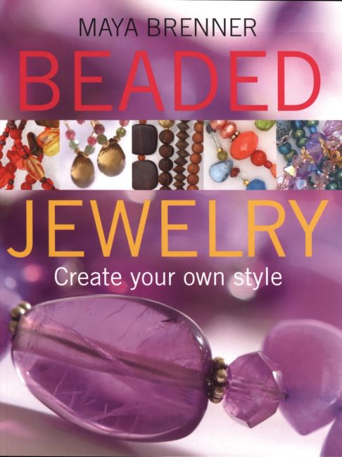 eBook cover of Beaded Jewelry