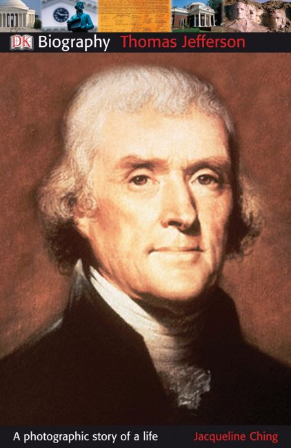 Paperback cover of DK Biography: Thomas Jefferson