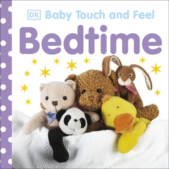 Board book cover of Baby Touch and Feel: Bedtime