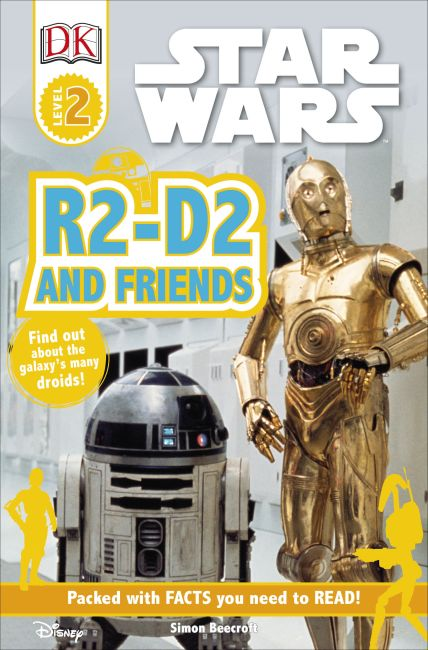 Paperback cover of DK Readers L2: Star Wars: R2-D2 and Friends