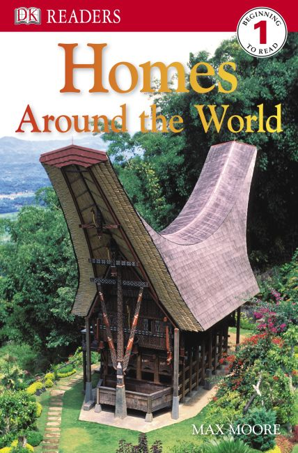 Paperback cover of DK Readers L1: Homes Around the World