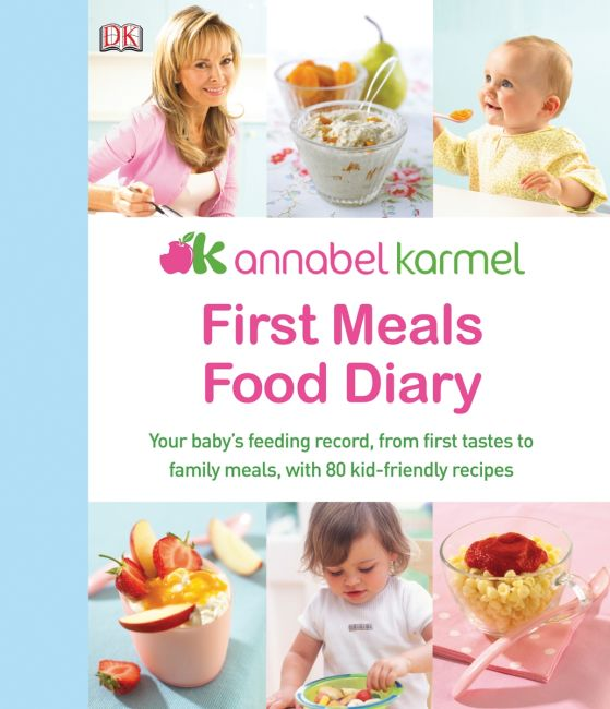 eBook cover of First Meals Food Diary