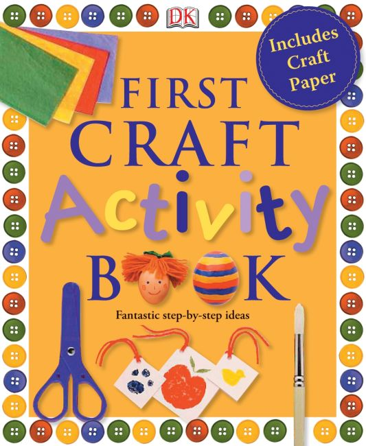 eBook cover of First Craft Activity Book