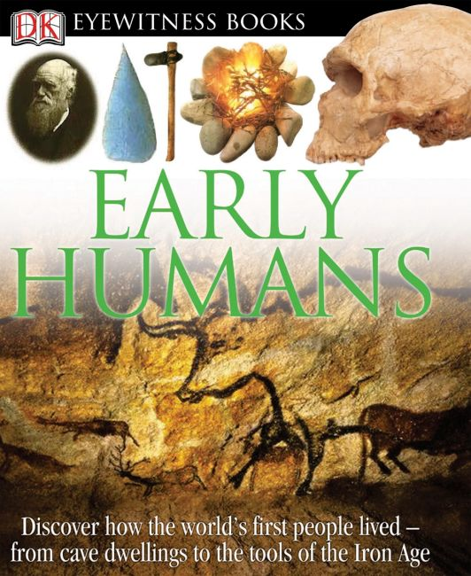 eBook cover of DK Eyewitness Books: Early Humans