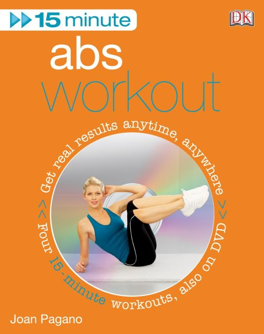 eBook cover of 15 Minute Abs Workout