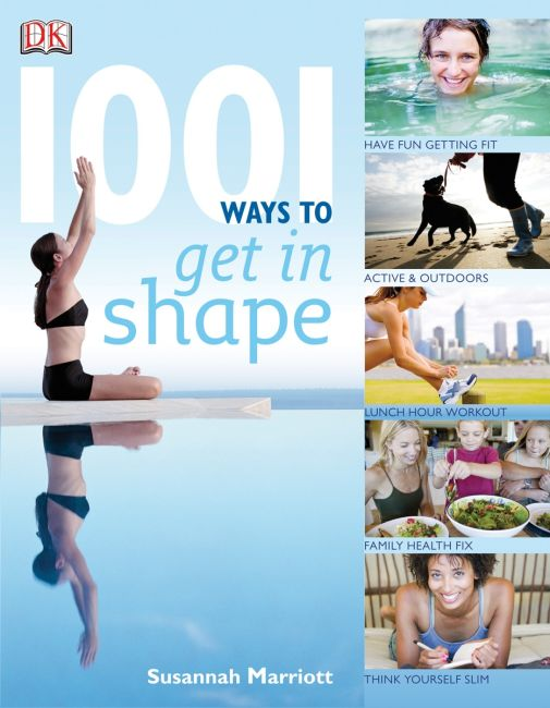 eBook cover of 1001 Ways To Get In Shape
