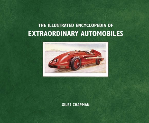 eBook cover of Illustrated Encyclopedia of Extraordinary Automobiles