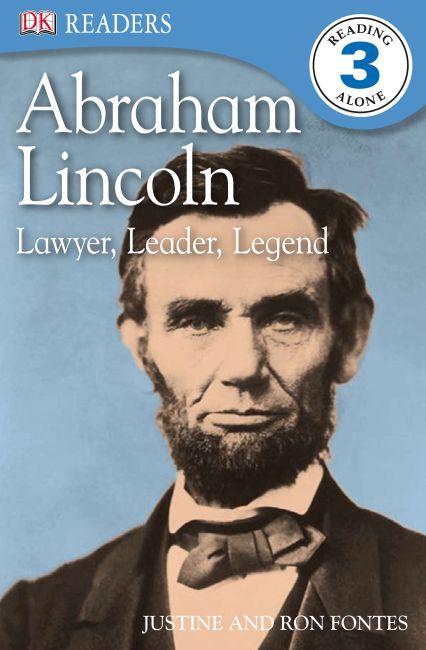 Paperback cover of DK Readers L3: Abraham Lincoln: Lawyer, Leader, Legend