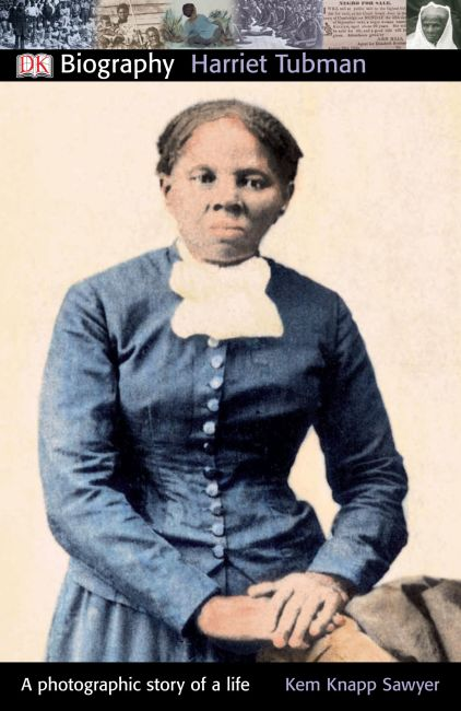 Paperback cover of DK Biography: Harriet Tubman