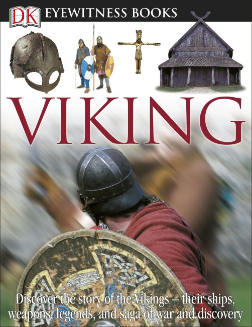 Hardback cover of DK Eyewitness Books: Viking