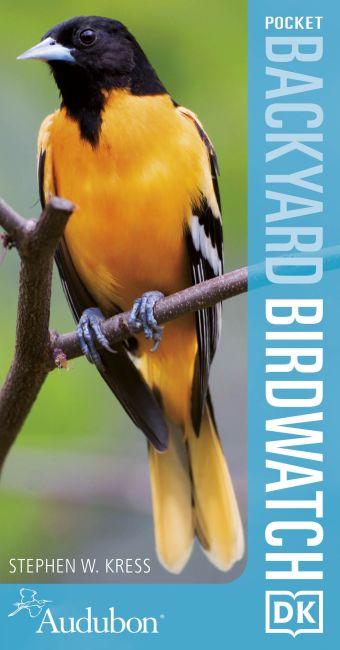 Paperback cover of Audubon Pocket Backyard Birdwatch, 2nd Edition