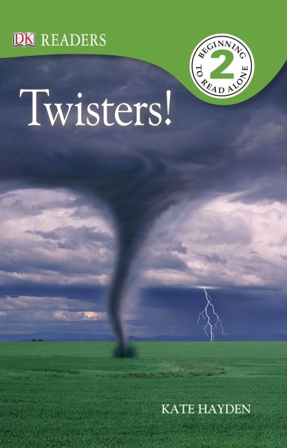 Paperback cover of DK Readers L2: Twisters!
