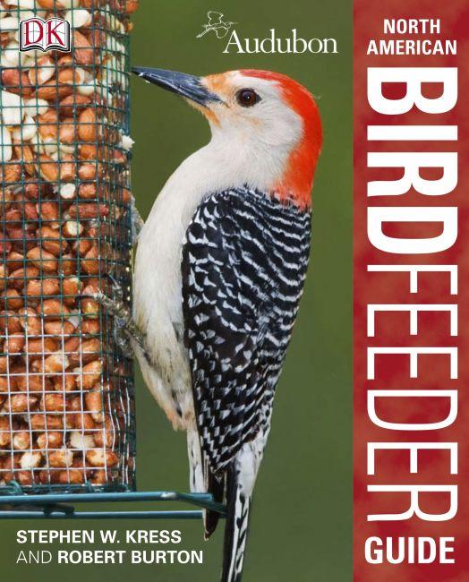 Hardback cover of Audubon North American Birdfeeder Guide