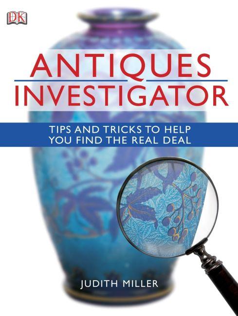 eBook cover of Antiques Investigator