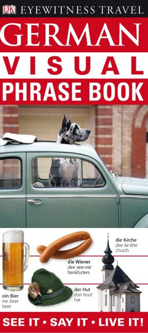 eBook cover of Eyewitness Travel Guides: German Visual Phrase Book