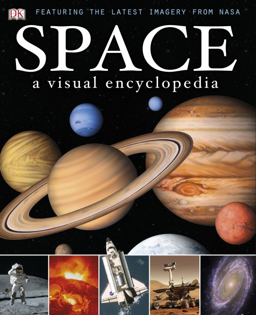 Hardback cover of Space: A Visual Encyclopedia