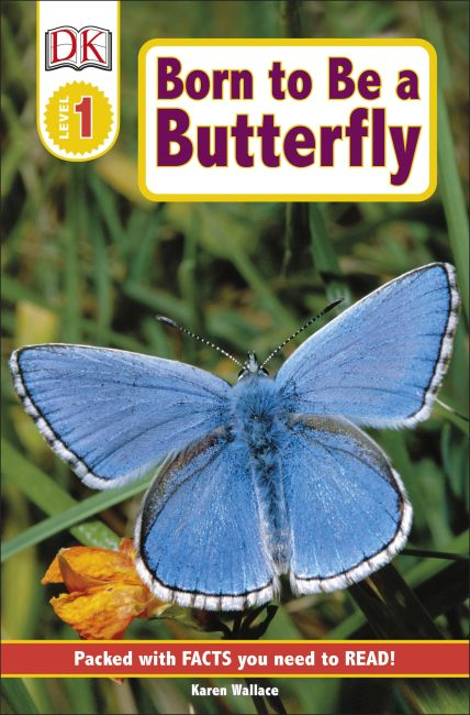 Paperback cover of DK Readers L1: Born to Be a Butterfly