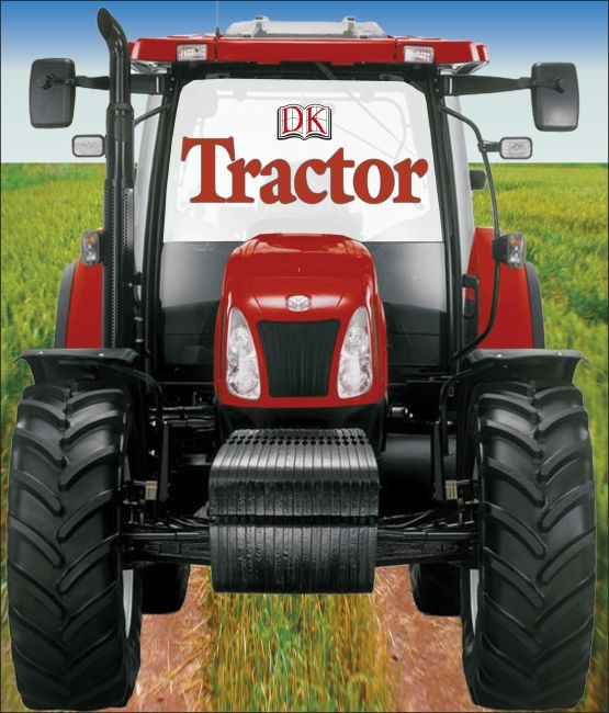 Board book cover of Tractor