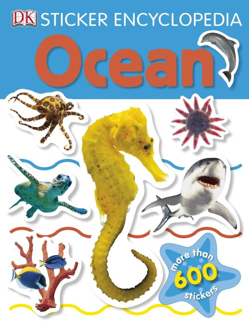 Paperback cover of Sticker Encyclopedia: Ocean