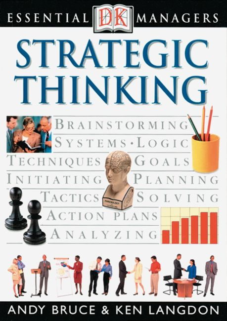 eBook cover of DK Essential Managers: Strategic Thinking