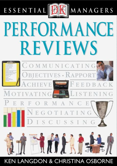 eBook cover of DK Essential Managers: Performance Reviews