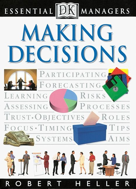 eBook cover of DK Essential Managers: Making Decisions