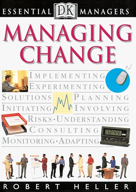 eBook cover of DK Essential Managers: Managing Change