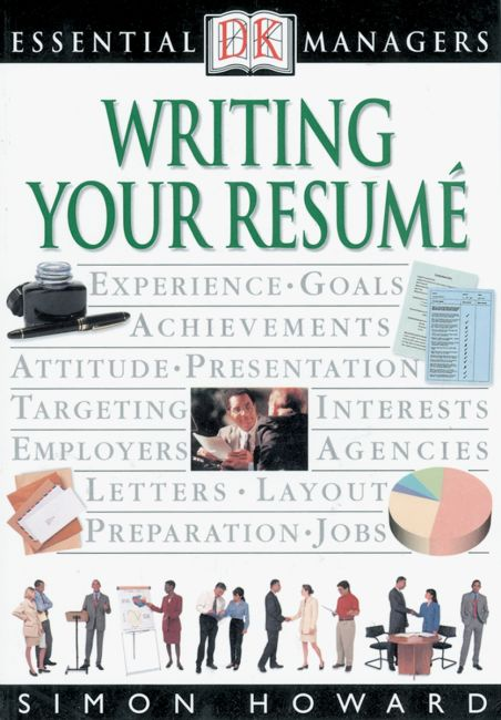 eBook cover of DK Essential Managers: Writing Your Resume