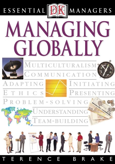 eBook cover of DK Essential Managers: Global Management