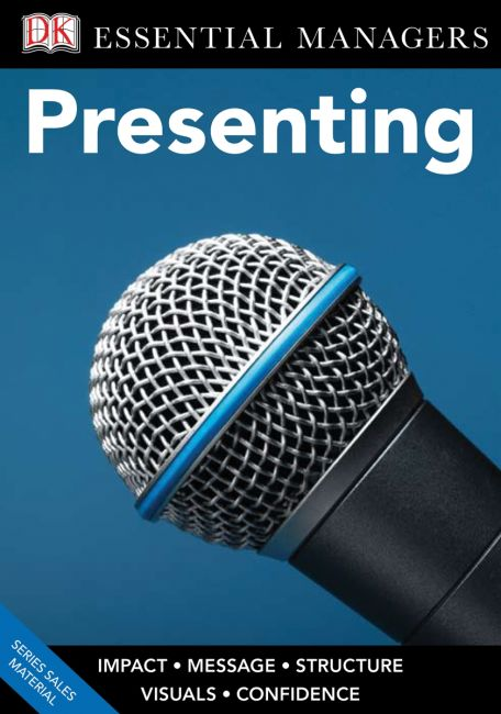 eBook cover of DK Essential Managers: Presenting