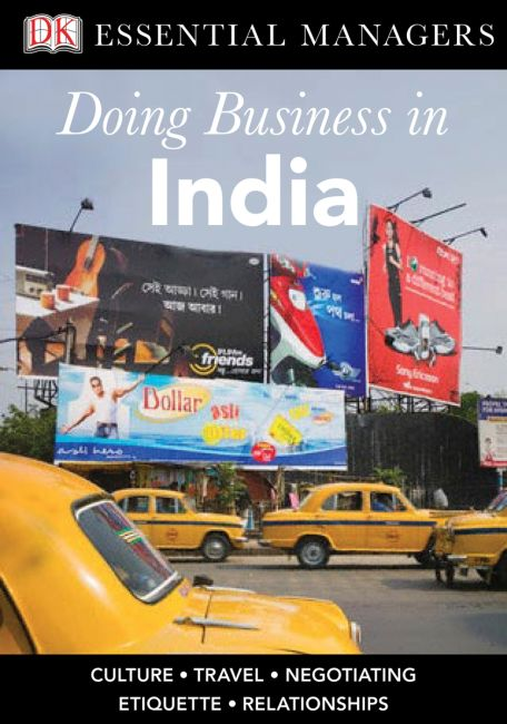 eBook cover of DK Essential Managers: Doing Business in India
