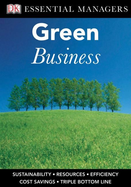 eBook cover of DK Essential Managers: Green Business
