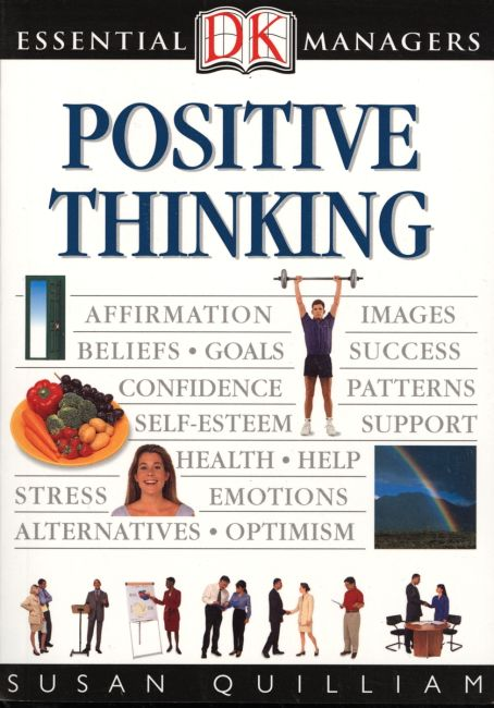 eBook cover of DK Essential Managers: Positive Thinking