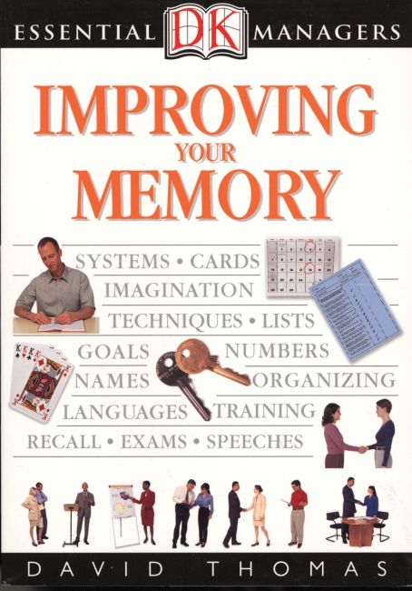 eBook cover of DK Essential Managers: Improving Your Memory