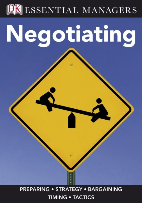 eBook cover of DK Essential Managers: Negotiating