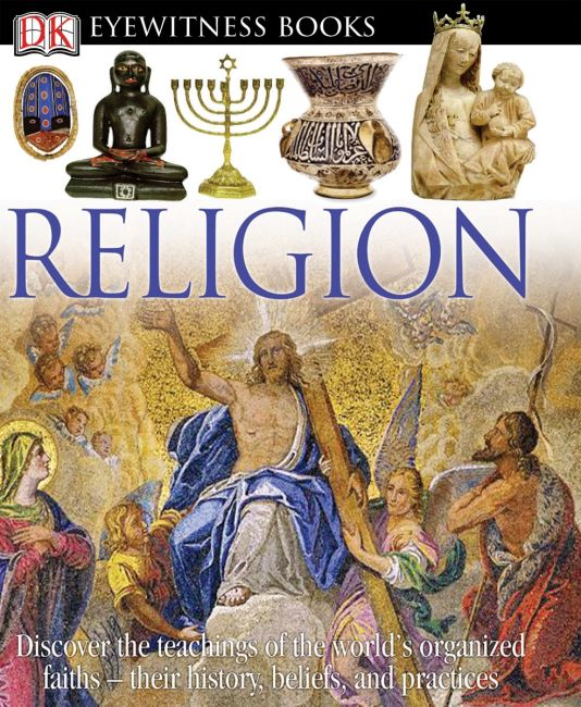 eBook cover of DK Eyewitness Books: Religion