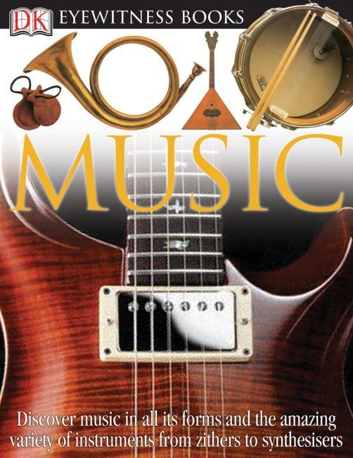 eBook cover of DK Eyewitness Books: Music