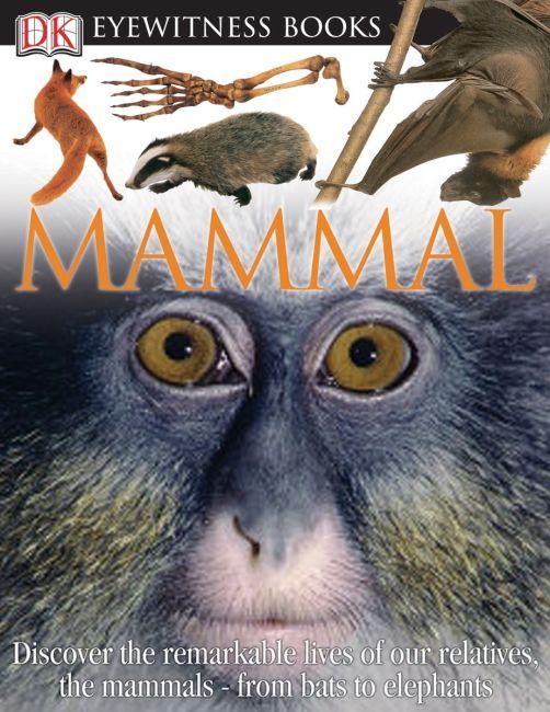 eBook cover of DK Eyewitness Books: Mammal