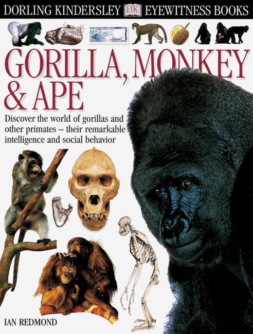eBook cover of DK Eyewitness Books: Gorilla