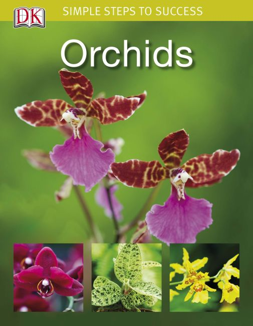 eBook cover of Simple Steps to Success: Orchids