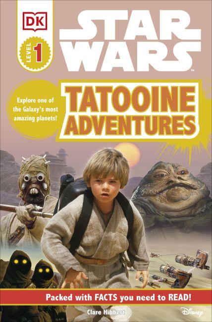 Paperback cover of DK Readers L1: Star Wars: Tatooine Adventures