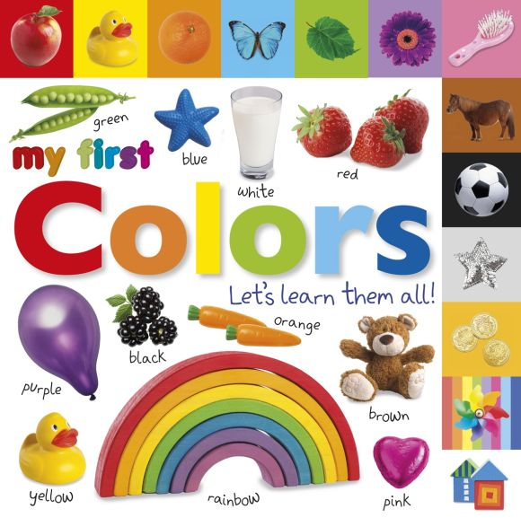 Board book cover of Tabbed Board Books: My First Colors