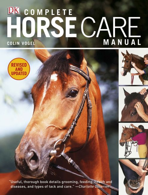 Hardback cover of Complete Horse Care Manual