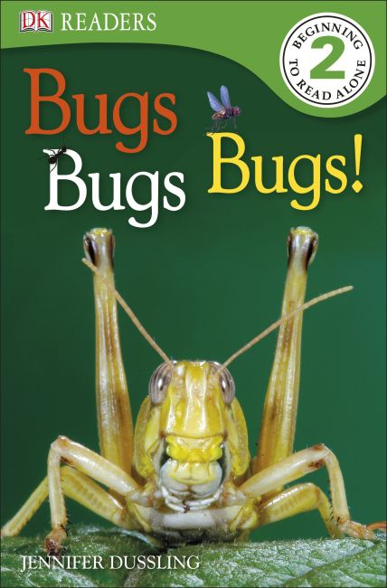 Paperback cover of DK Readers L2: Bugs Bugs Bugs!